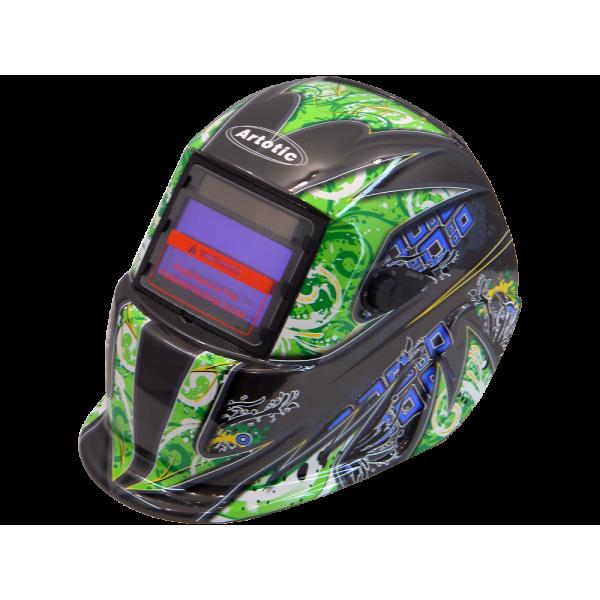 Сварочная маска хамелеон Титан S777 (зеленая)
