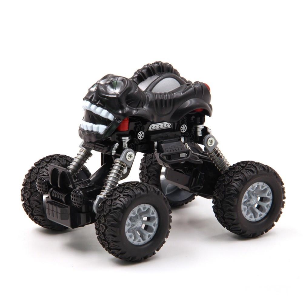 Інерційна іграшка KLX Monster Graffiti Off-Road дитячий автомобіль Чорний (SUN3458)