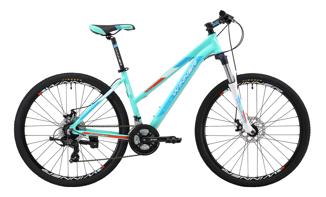 """Велосипед WINNER ALPINA 27,5"""" 2019 голубой"""