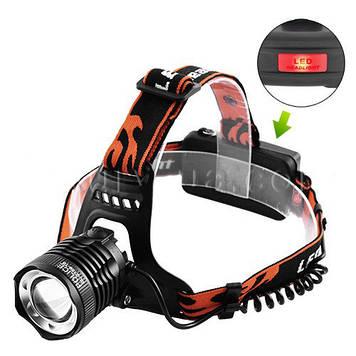Налобний ліхтар акумуляторний Police 12V 2189-T6
