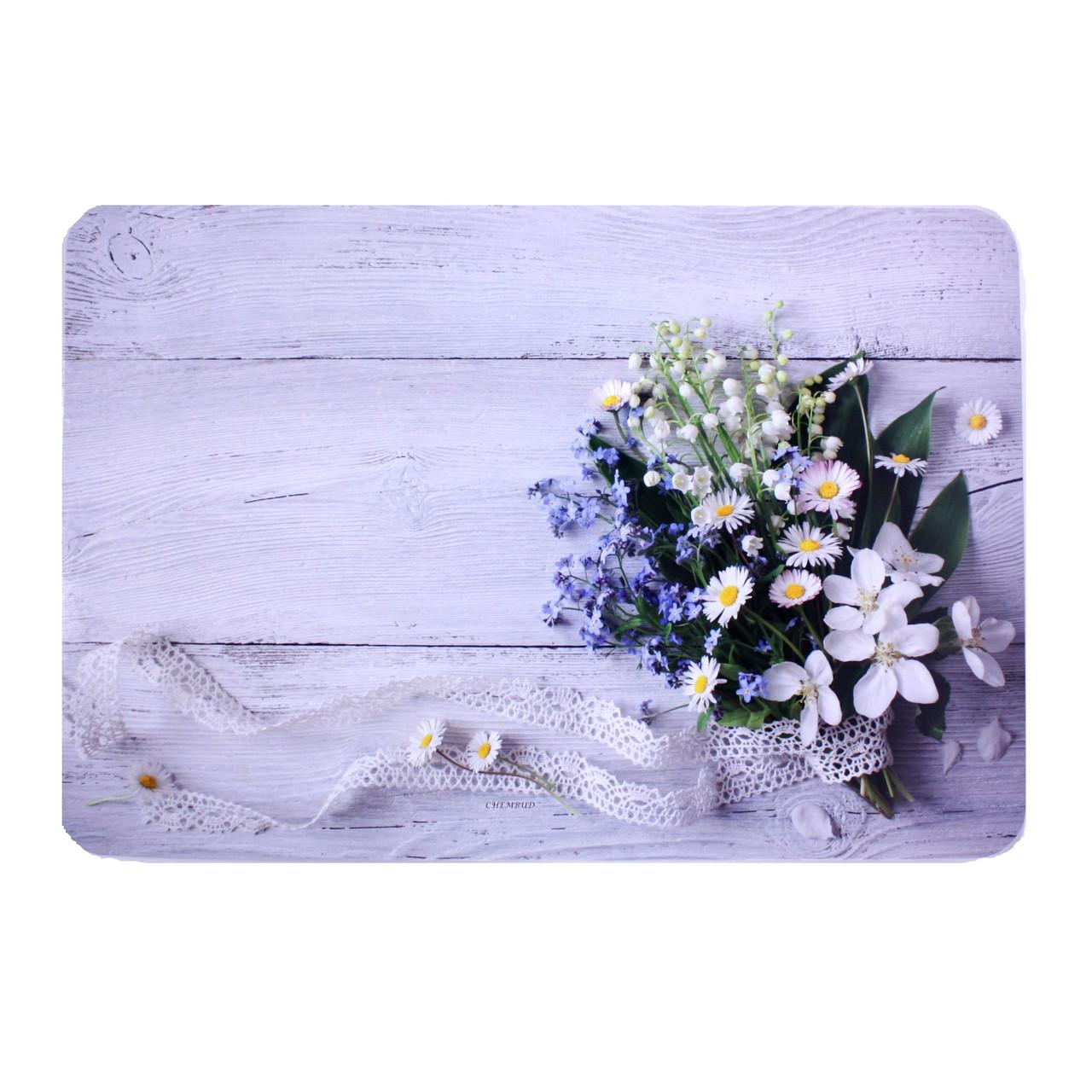 Подставка на стол, 40х27 см, разноцветный, полевые цветы