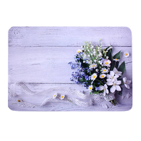 Подставка на стол, 40х27 см, разноцветный, полевые цветы, фото 2