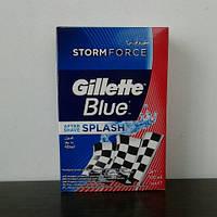 Лосьон после бритья мужской Gillette Blue storm ( Жиллет ) 100 мл.