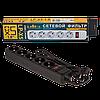 Мережевий фільтр LogicPower 5 розеток 1,8 м, чорний (LP-X5)