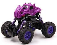 Інерційна іграшка KLX Monster Graffiti Off-Road дитячий автомобіль Фіолетовий (SUN3460)