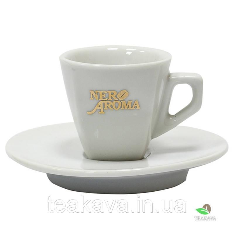 Чашка з блюдцем Американо Aroma Nero