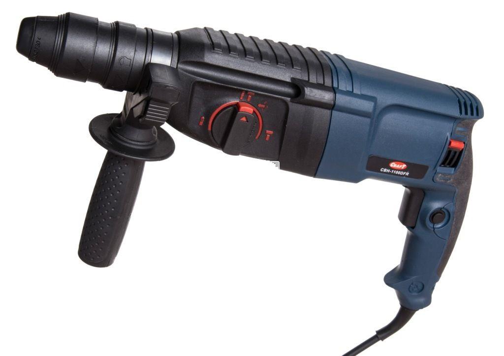 Перфоратор Craft CBH 1100 DFR (знімний патрон)