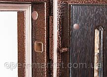 Двухстворчатые, полуторные входные двери Саган Стандарт, Николаев, фото 3