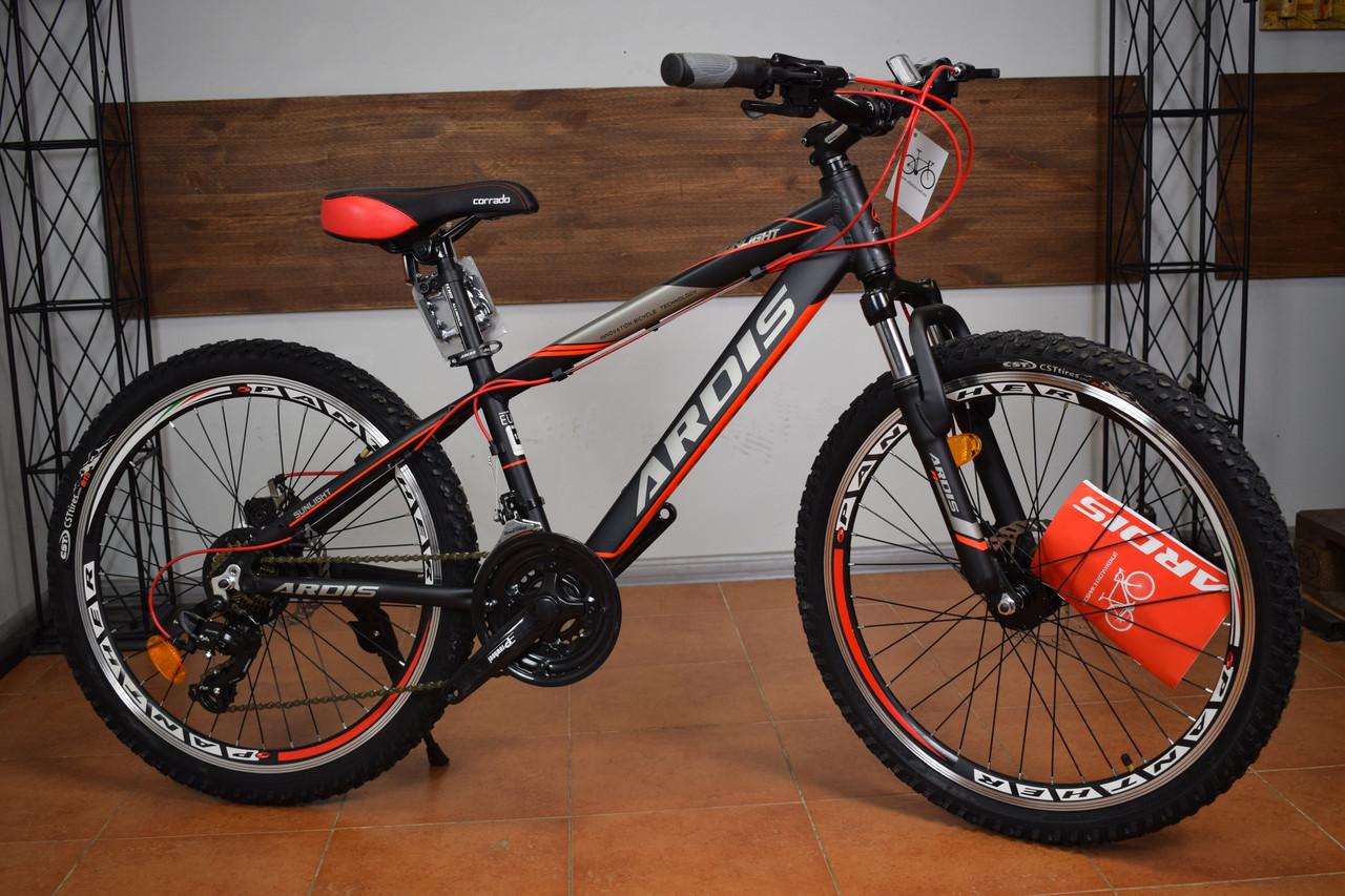 """Подростковый горный велосипед 24"""" Ardis Sunlight"""
