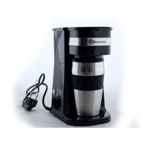Кофеварка Domotec MS 0709 700W + Подарок Термостакан