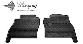Передние резиновые коврики NISSAN Patrol (Y61) 1997- Stingray (2шт/комп) 1014182