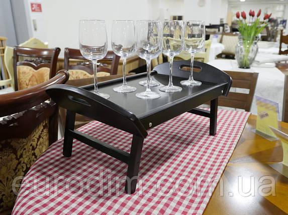Столик для завтрака венге, фото 2