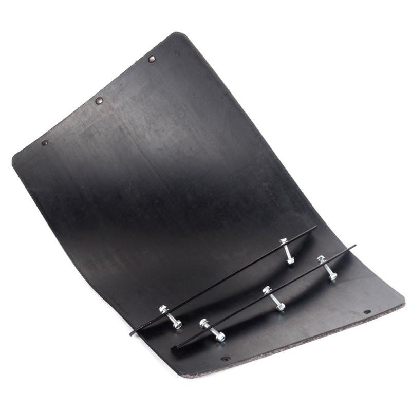 Резиновый коврик для виброплиты с креплением 550х380 мм.
