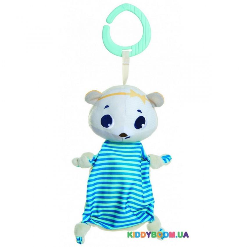 Мягкая подвеска-платочек Белый медвежонок Элеонор Tiny Love 1116500458