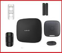 Комплект беспроводной сигнализации  для уличной территории  Ajax  (Black), фото 1