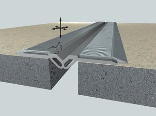 Алюминиевый деформационный профиль PARN 52-70