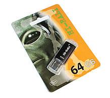 USB флешка версії 3.0 64Gb Hi-Rali Rocket series Black (HI-64GB3VCBK)