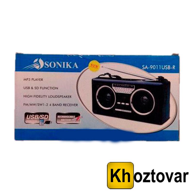 Радіоприймач SONIKA SA-9011 USB-R | USB/SDCard Reader