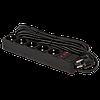 Мережевий фільтр LogicPower 5 розеток, 10 м, чорний ОЕМ (LP-X5)