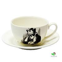 Чашка с блюдцем Алиса джамбо Wilmax 250 мл