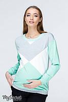 Світшот для вагітних та годуючих мам (Свитшот для беременных и кормящих мам) CAT NR-19.071, фото 1