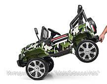 Детский электромобиль Джип M 3237EBLR-18 комуфляж, фото 2