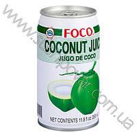 Сок кокоса FOCO 350мл