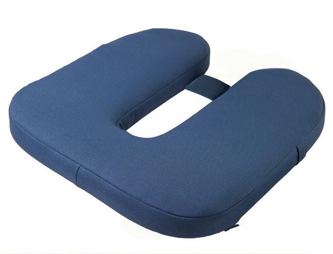 П-образная ортопедическая подушка для сидения ДЛЯ ВОДИТЕЛЕЙ. Используется при лечении и профилактики