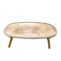 🔝 Столик для завтрака в постель, Цвет капуччино, столик в кровать | 🎁%🚚