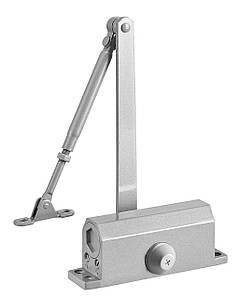 Доводчик дверной DT No.2 алюминиевый 25-45 кгс
