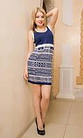 Женское платье Буквенный принт , фото 1