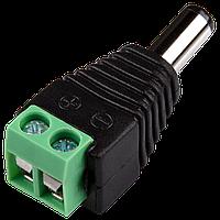 Коннектор для передачі живлення Green Vision GV-DC male ФАС_3587, фото 1