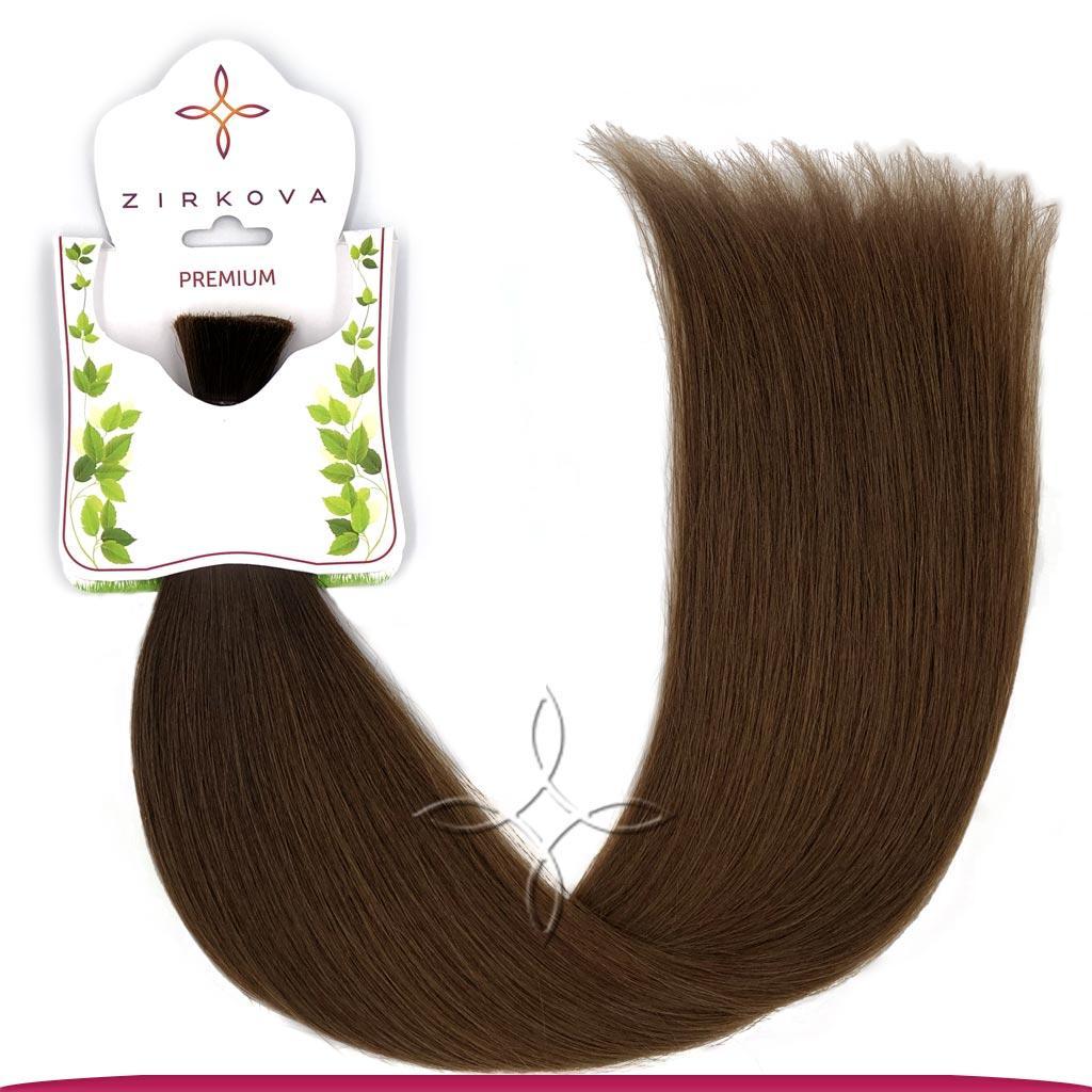 Натуральные Славянские Волосы в Срезе 50 см 100 грамм, Омбре №02-04