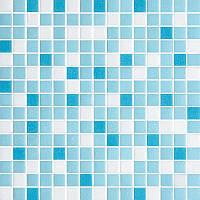 Мозаика стеклянная 2х2см микс MDA331
