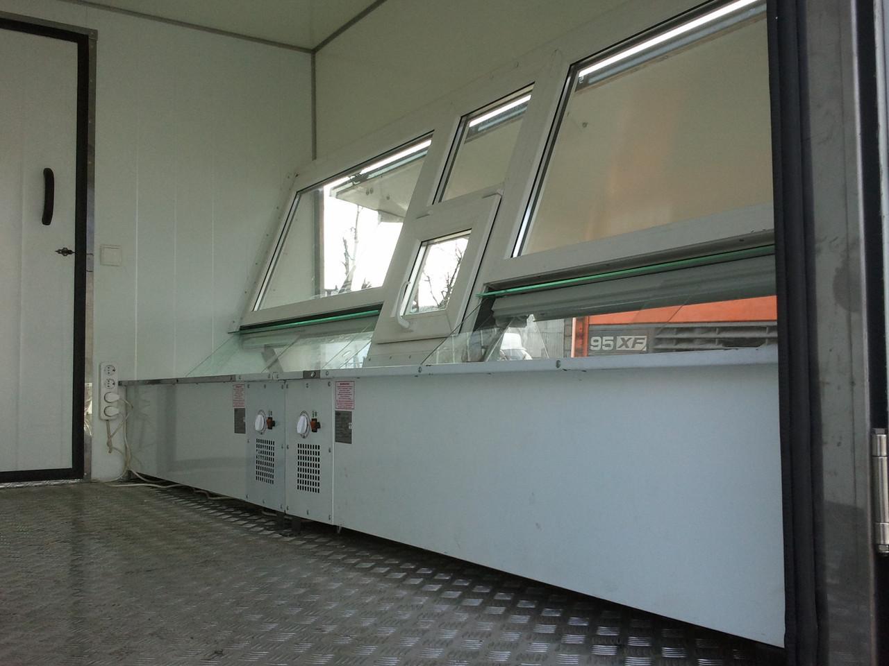 Изготовление фургона для выездной торговли (автолавки) на базе автомобиля ГАЗ