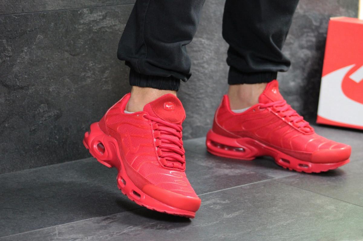 ec9dac89 Мужские кроссовки весенние красные Nike Air Max TN 7282 (реплика) -  Интернет - магазин