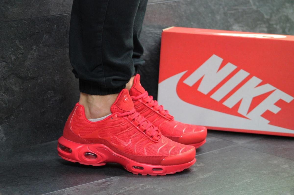 860938ed ... Мужские кроссовки весенние красные Nike Air Max TN 7282 (реплика), ...