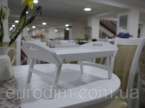 Столик для завтрака белый, фото 2