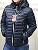 Весенняя женская куртка белая с капюшоном, фото 5