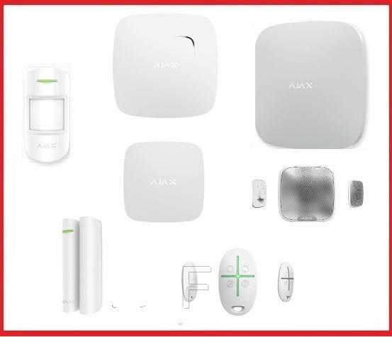 Комплект беспроводной сигнализации Ajax Индивидуальный (White)