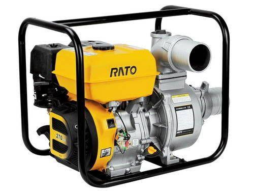 Купить Мотопомпа для грязной воды RATO RT100NB26-7.2Q