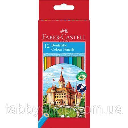 "Цветные карандаши Faber Castell ""Замок и рыцари"" 120112 (12 цв.)"