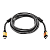 Кабель LogicPower HDMI-HDMI 3.0 м, Ver 2.0 (4K/Ultra HD)