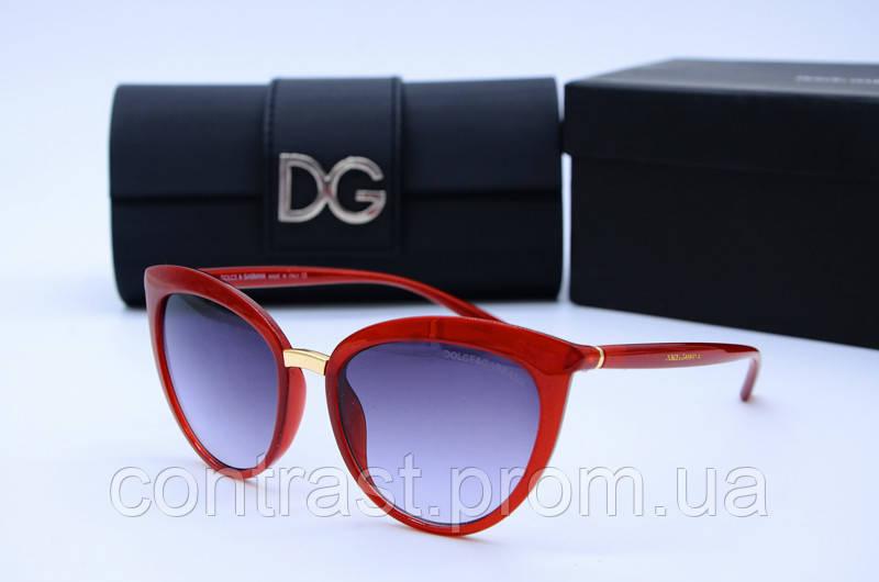 Солнцезащитные очки DG 6413 красные