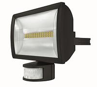 Светодиодный прожектор 20 Вт с датчиком движения theLeda E20 BK th 1020914