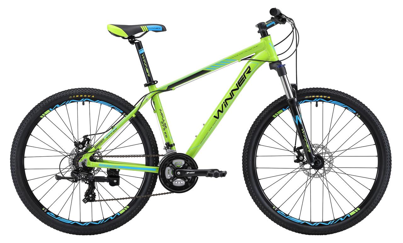"Велосипед WINNER IMPULSE 27,5"" 2018 зеленый"