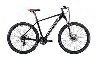 """Велосипед WINNER SOLID - DX 27,5"""" 2019 черный"""