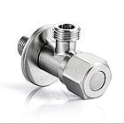 Кран приборный из нержавеющей стали (SUS304) 1/2*1/2, фото 3
