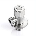 Кран приборный из нержавеющей стали (SUS304) 1/2*1/2, фото 5