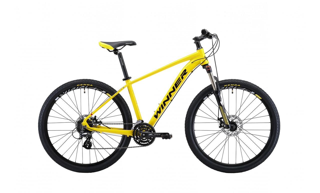 """Велосипед WINNER SOLID - DX 27,5"""" 2019 желтый"""